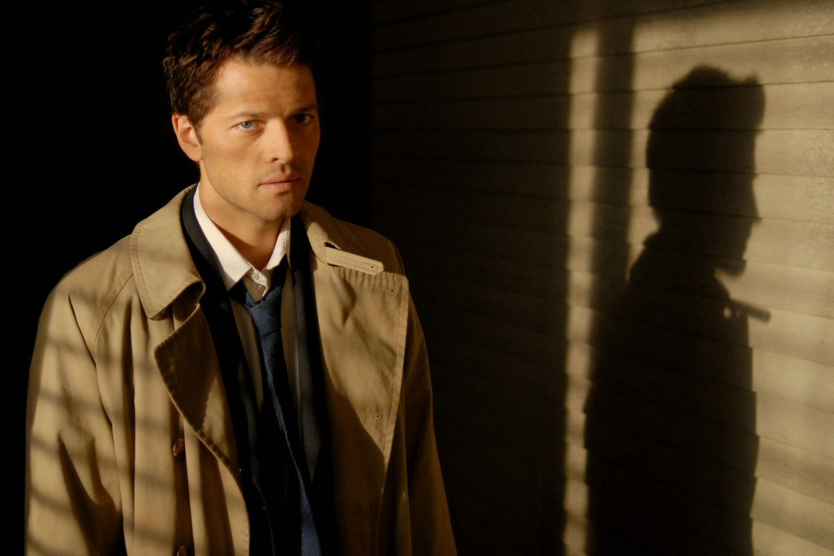 Misha Collins plays Castiel in Supernatural.