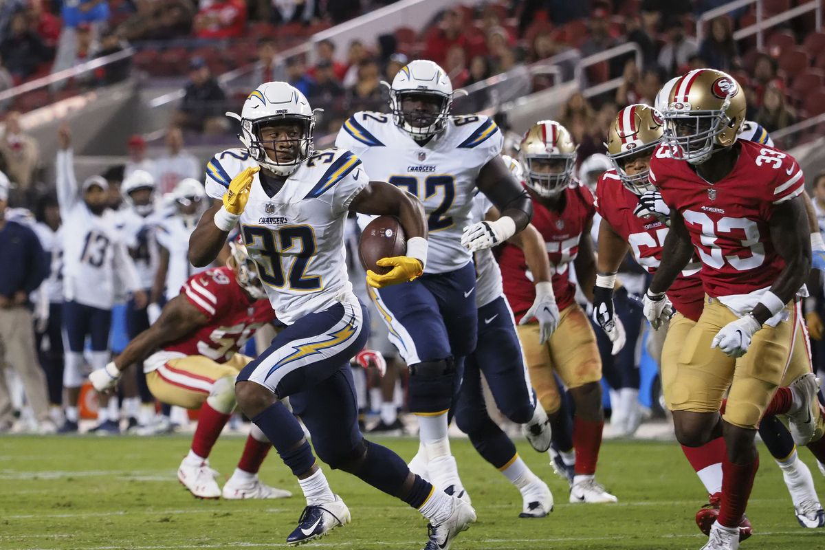 Chargers Waive Justin Jackson Bolts From The Blue
