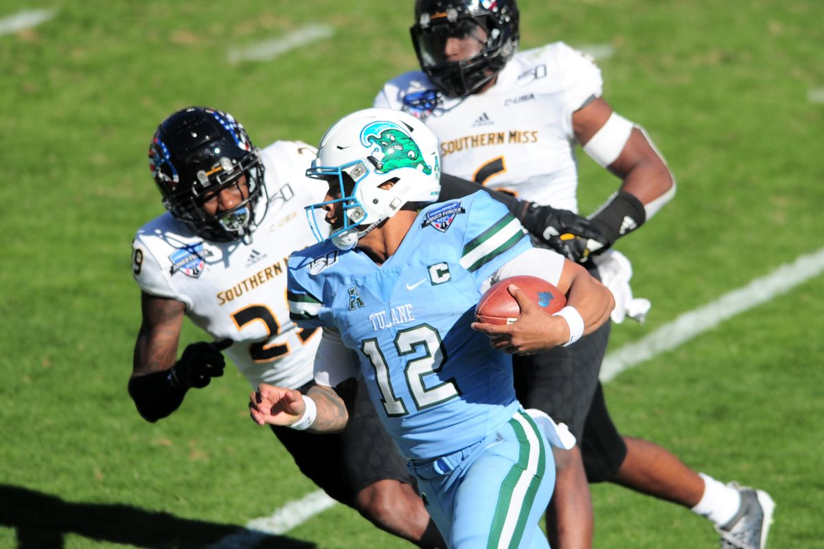 COLLEGE FOOTBALL: JAN 04 Armed Forces Bowl - Southern Miss v Tulane