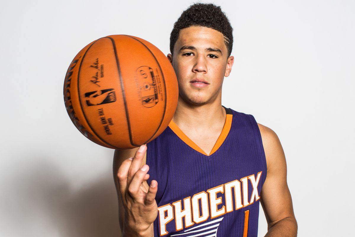 Nba Player Trevor Booker >> Bright Side One-on-One: Suns rookie Devin Booker brings fundamentals, basketball IQ to aid NBA ...