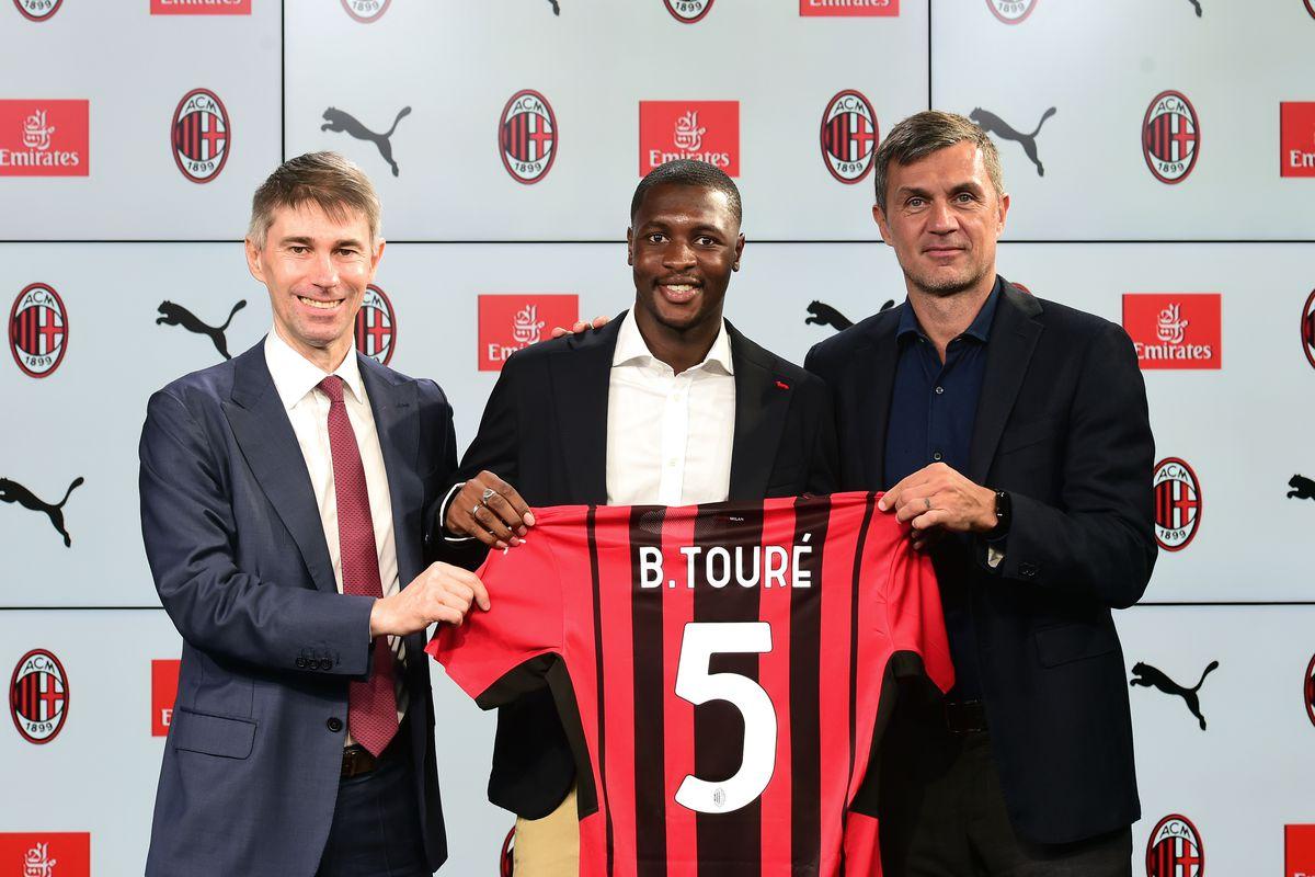 AC Milan Unveils New Signing Fode Ballo-Toure
