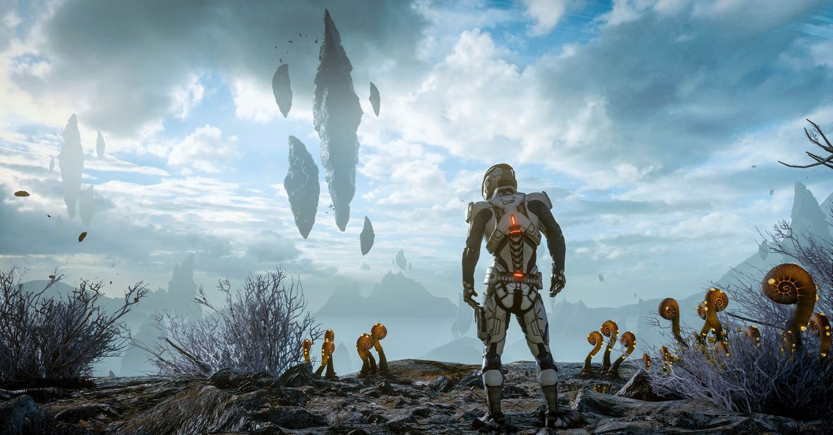 Mass Effect Andromeda Is A Thrilling Sci Fi Drama Stuck To A Boring Game The Verge