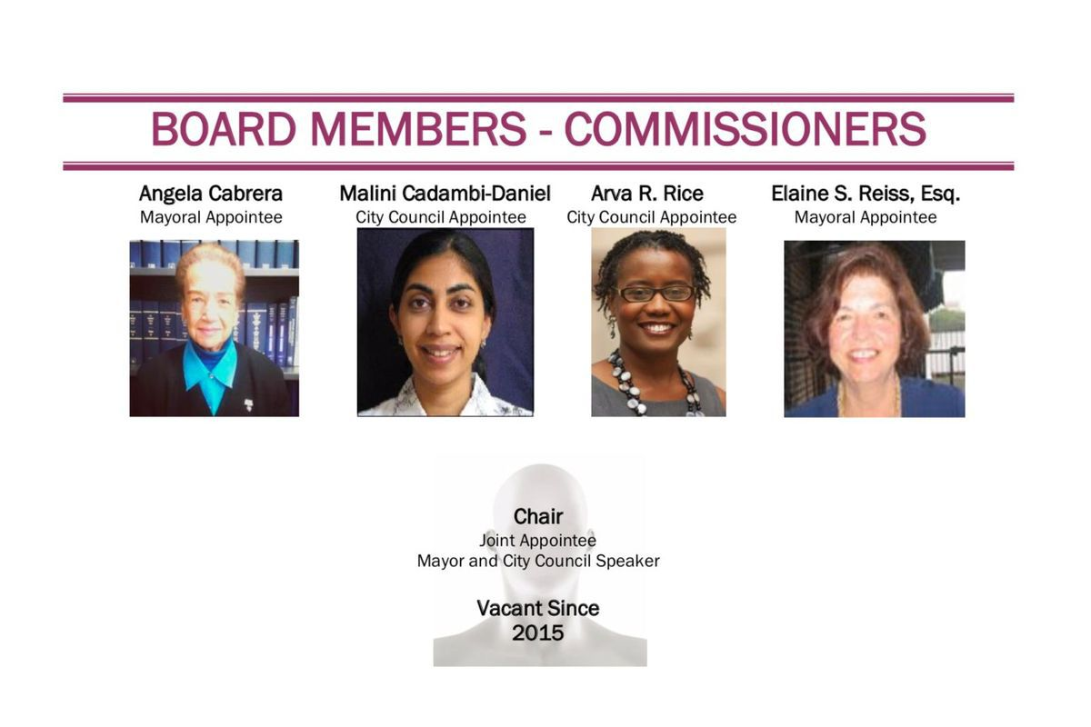 The board members of the EEPC — with no chair.