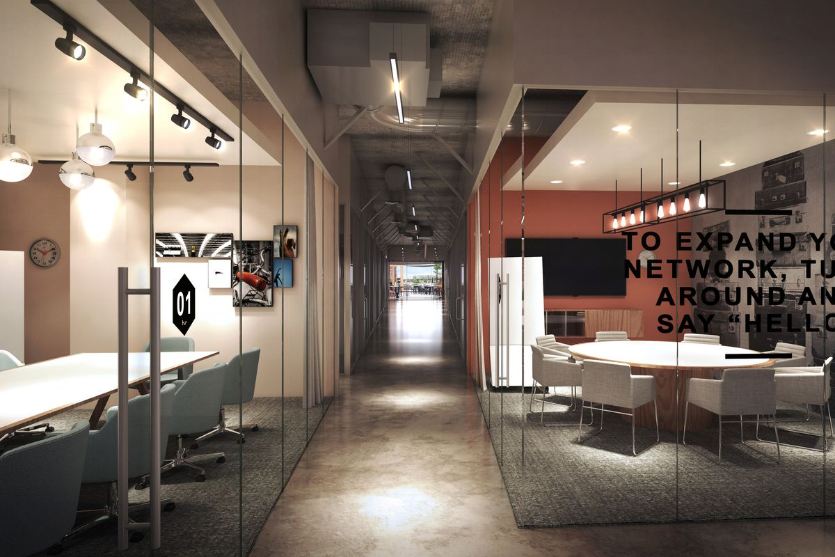 Brand New Noma Co Working Space To Launch In April Curbed Dc