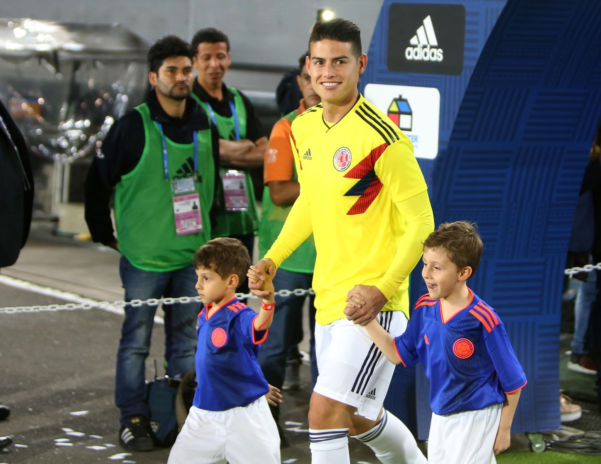 Colombia Open Training Session