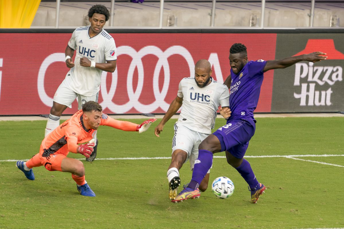 SOCCER: NOV 29 MLS Cup Playoffs Eastern Conference Semifinal - New England Revolution at Orlando City SC
