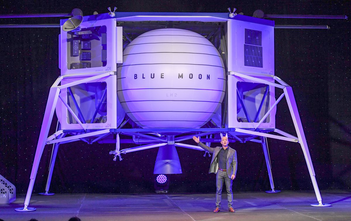 Blue Origin founder Jeff Bezos gives an update on their progress and share their vision of going to space to benefit Earth.