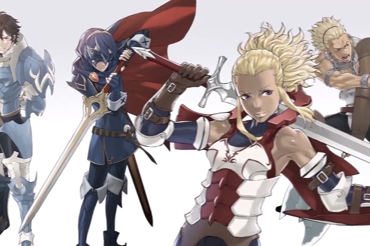 Fire Emblem Awakening Launching April 19 In Europe Alongside Exclusive 3ds Xl Bundle Polygon