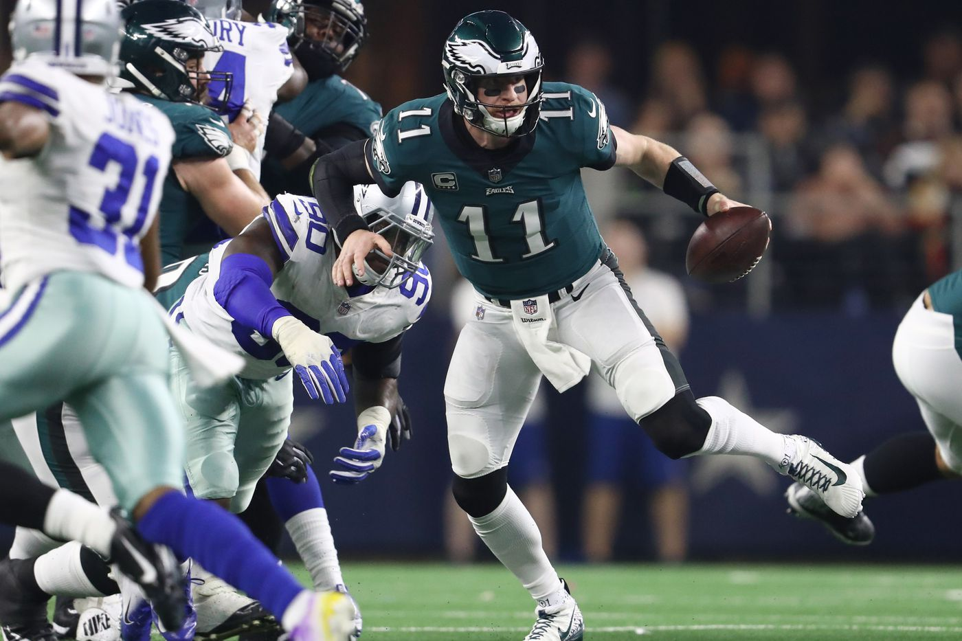 Report Carson Wentz Had A Stress Fracture In College Too