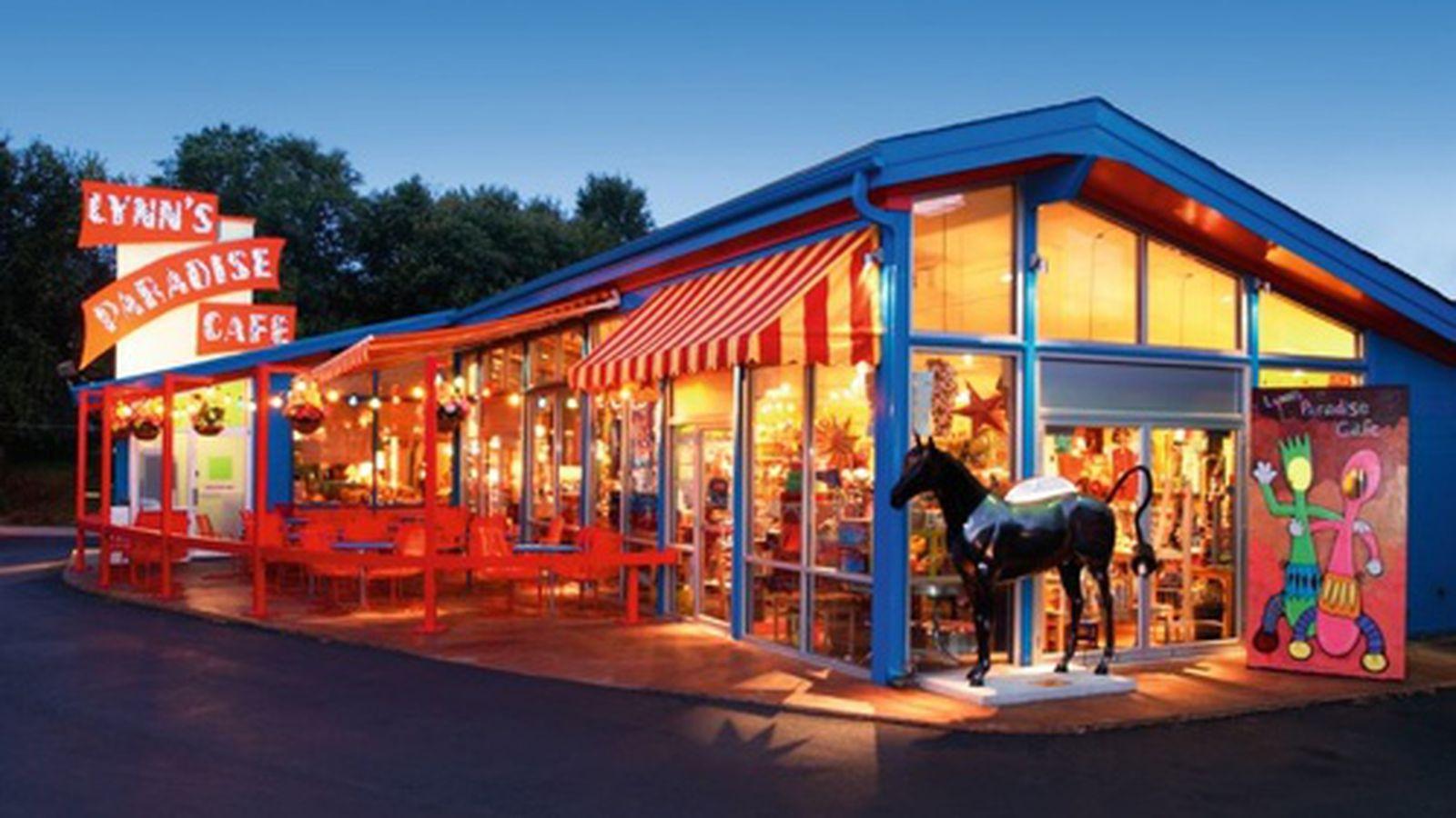 Paradise Cafe Boston Menu