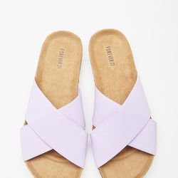 """Elastic Crisscross Sandals, <a href=""""http://www.forever21.com/Product/Product.aspx?BR=f21&Category=shoes&ProductID=2000116533&VariantID="""">$22.90</a>"""
