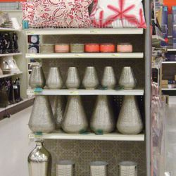 Home goods like pillows, vases and candles