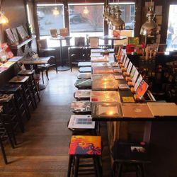 """<a href=""""http://tresgatosjp.com/"""">Tres Gatos</a> (470 Centre Street) is a special hybrid of tapas bar, bookstore, and record store, attracting a predictably creative crowd. Named one of the city's <a href=""""http://boston.eater.com/archives/2013/02/06/eater"""