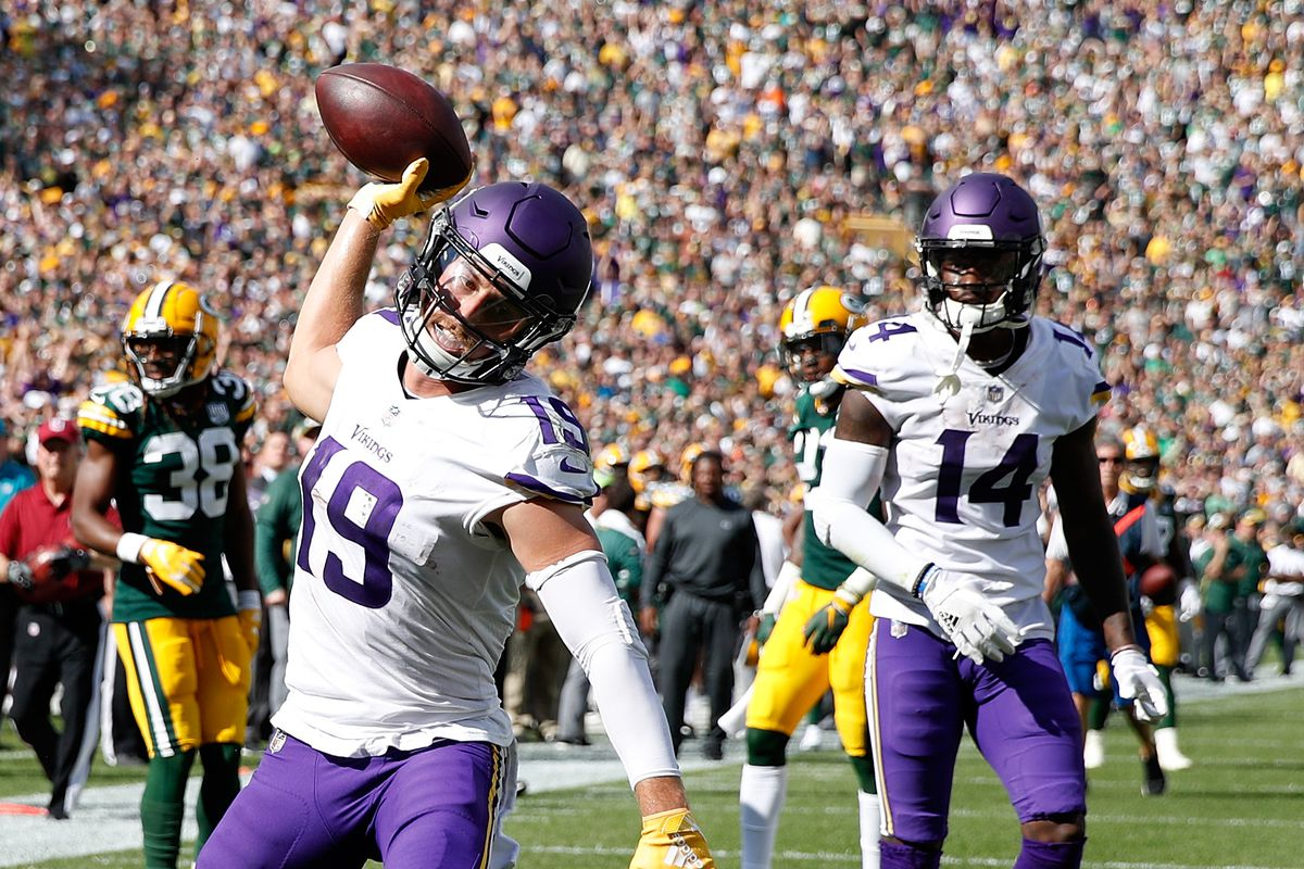 buy online f2191 11d00 How Adam Thielen went from a $500 D2 scholarship to record ...