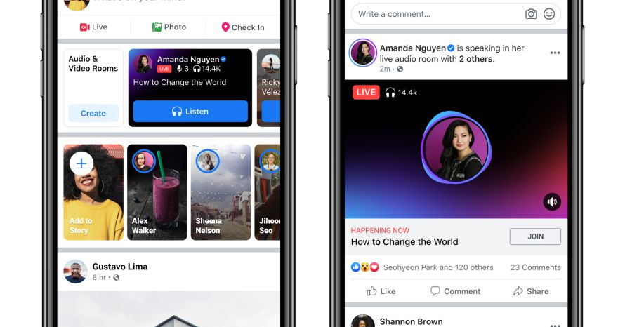 Facebook expands its Live Audio feature to more creators globally