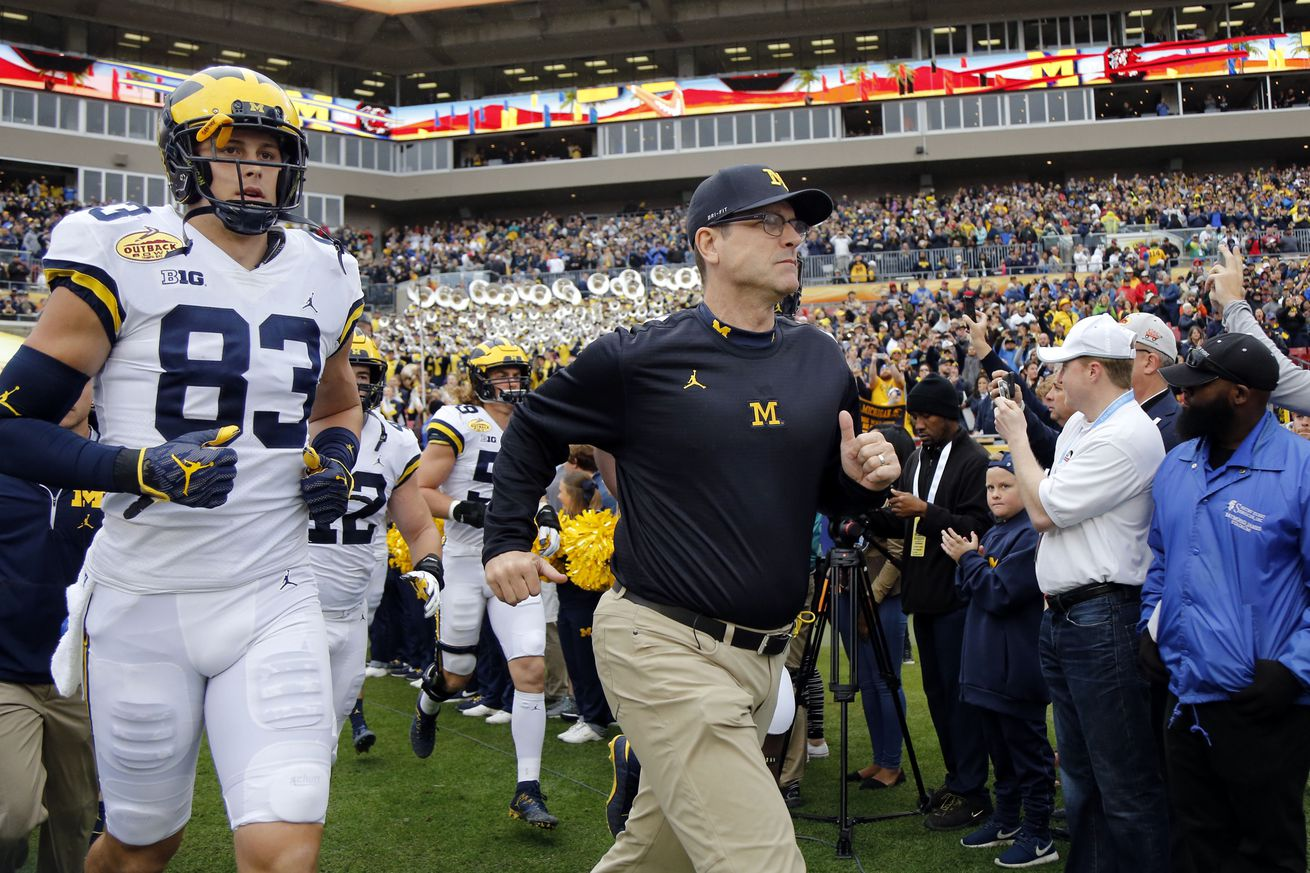 What could a Jim Harbaugh spread offense look like?