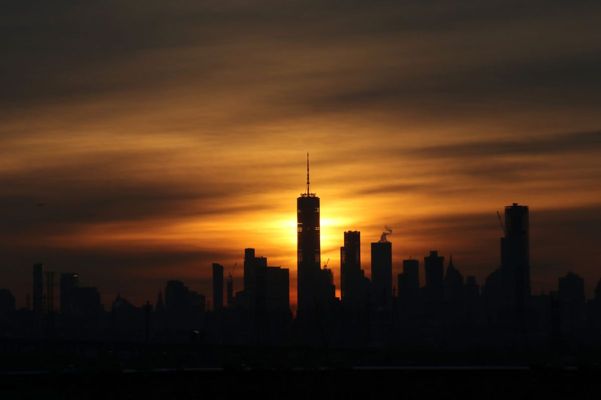 Winter Solstice Sunrise in New York City