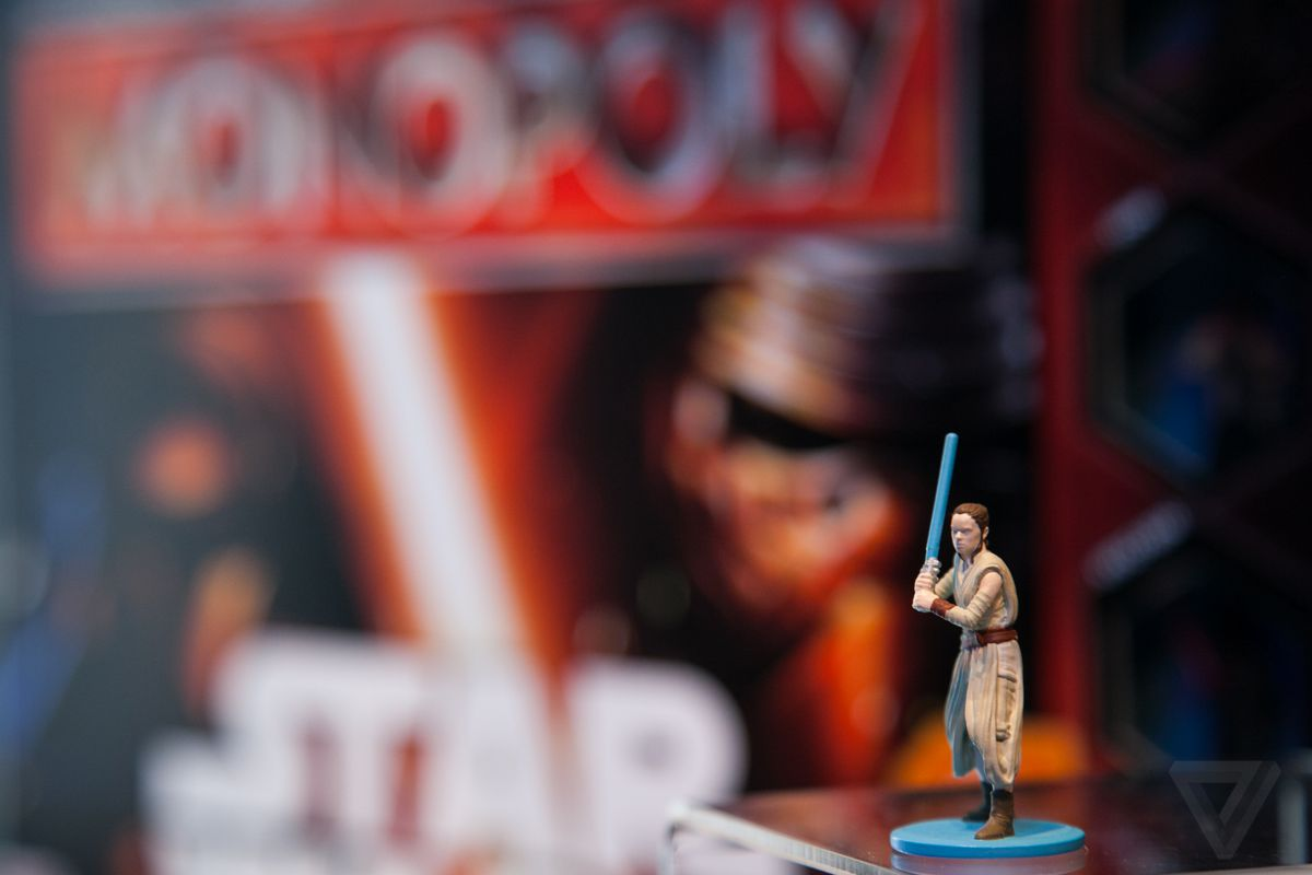 Rey's Force Awakens Monopoly Token Meets A Tragic Fate