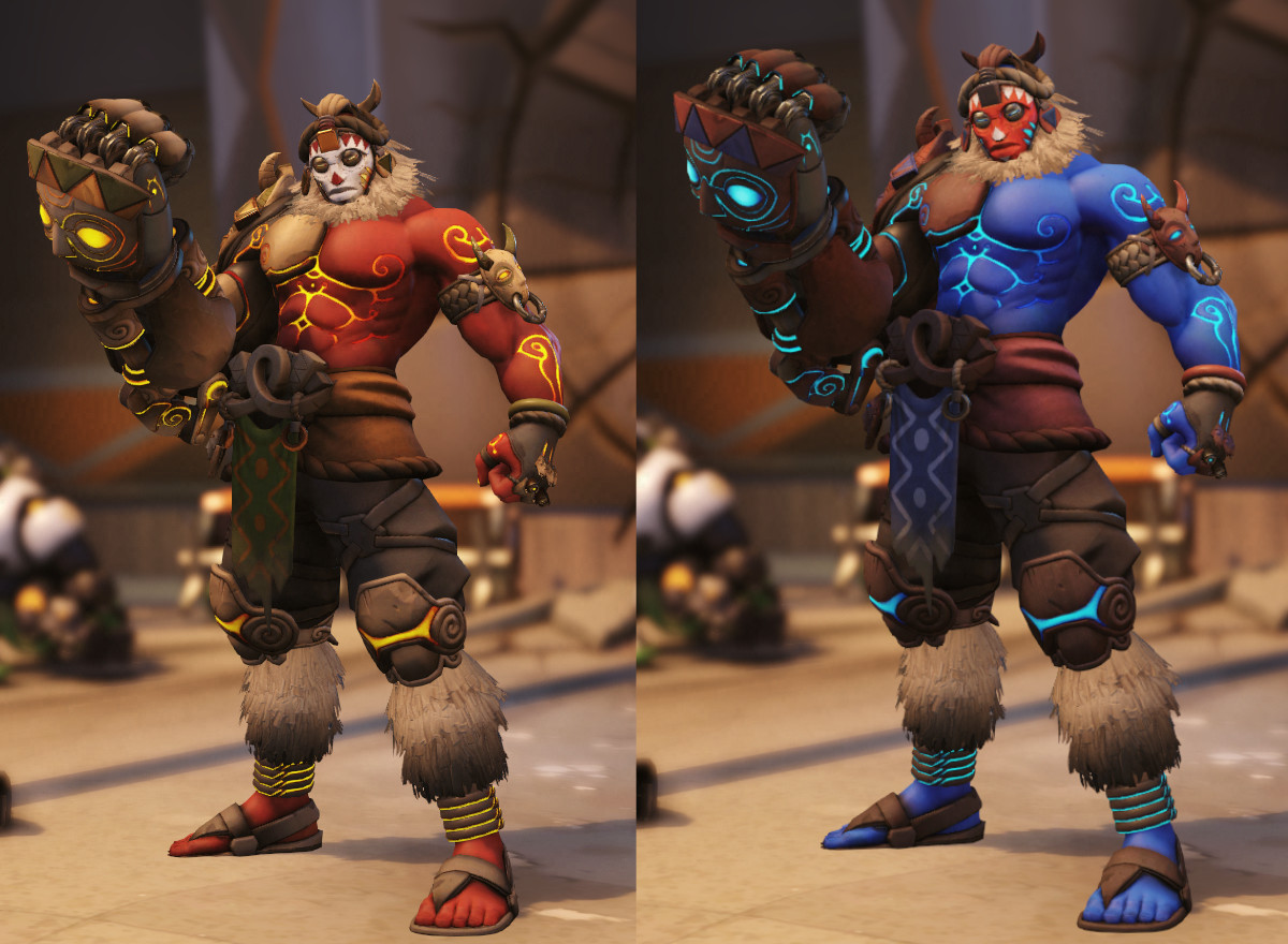 These skins are gorgeous.