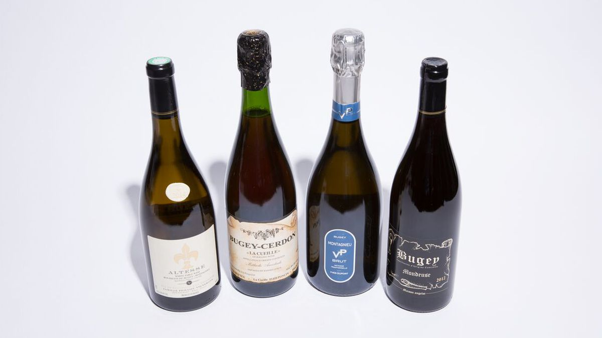 Four great Bugey Wines.