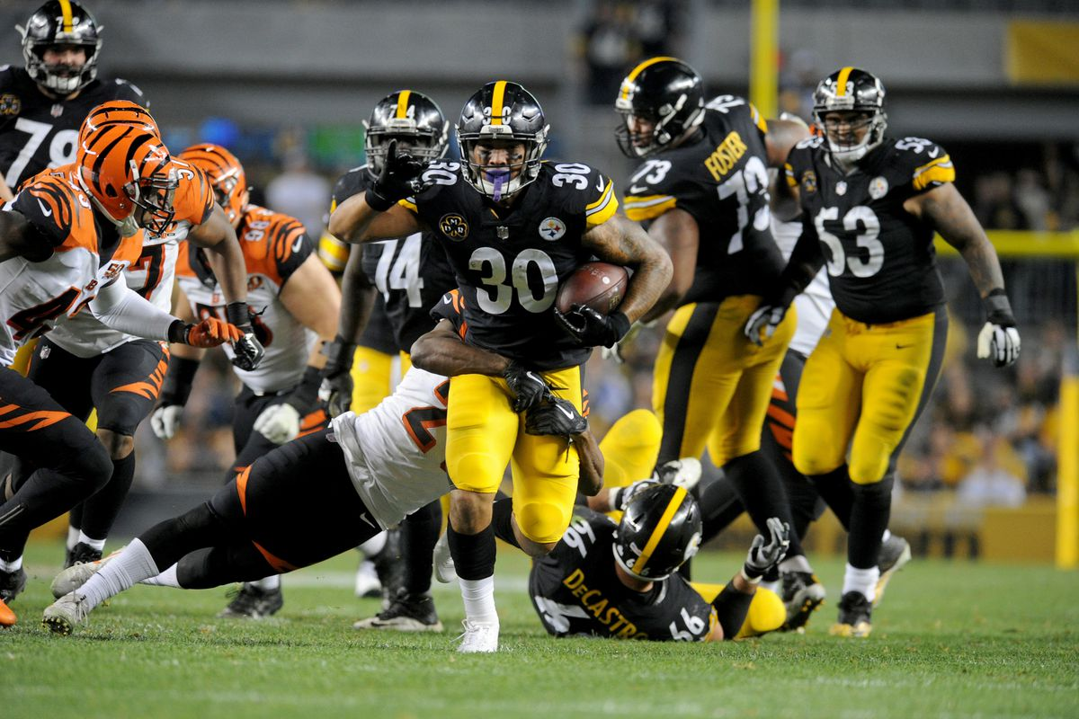 James Conner optimistic for his second season ce6749db4