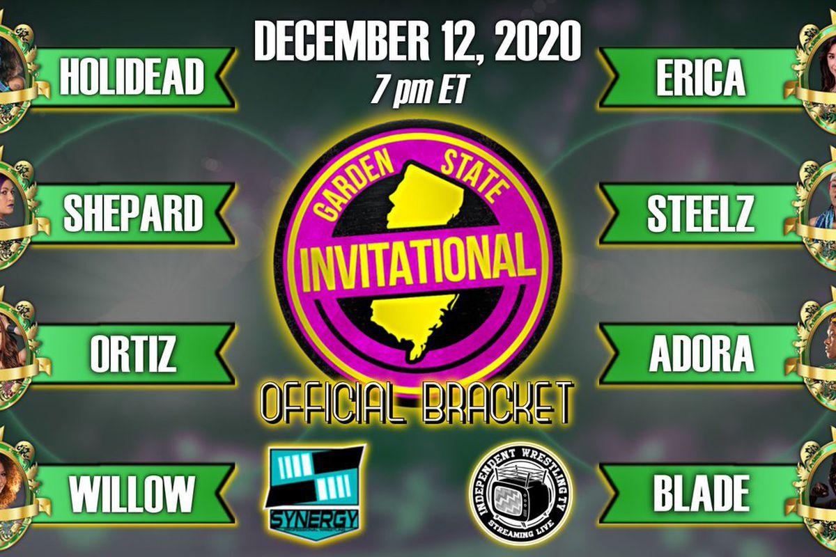 Bracket for SPW Women's Garden State Invitational 2020