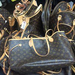 Louis Vuitton handbag, $750
