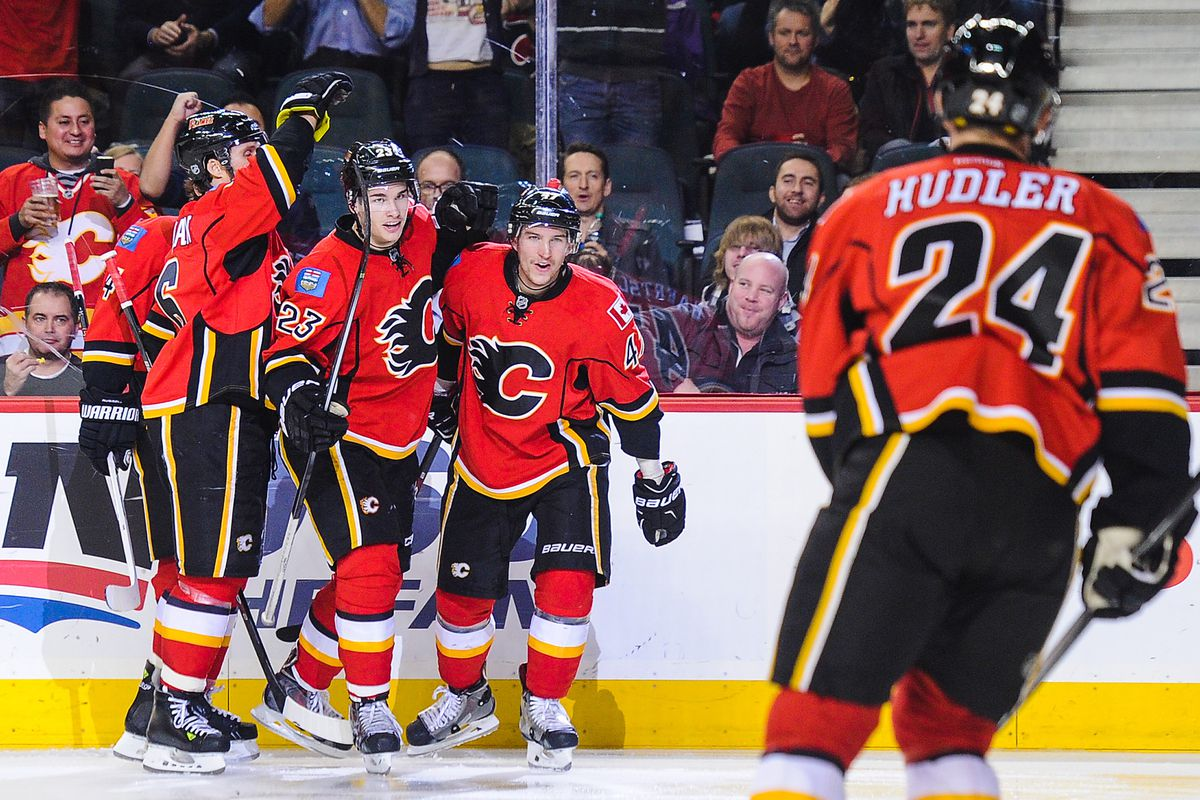 Once upon a time, the Flames used Sven Baertschi, and it was good.