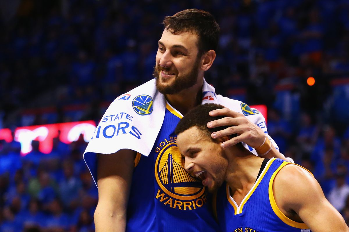 Andrew Bogut is here to save the Warriors from boring their fans to death