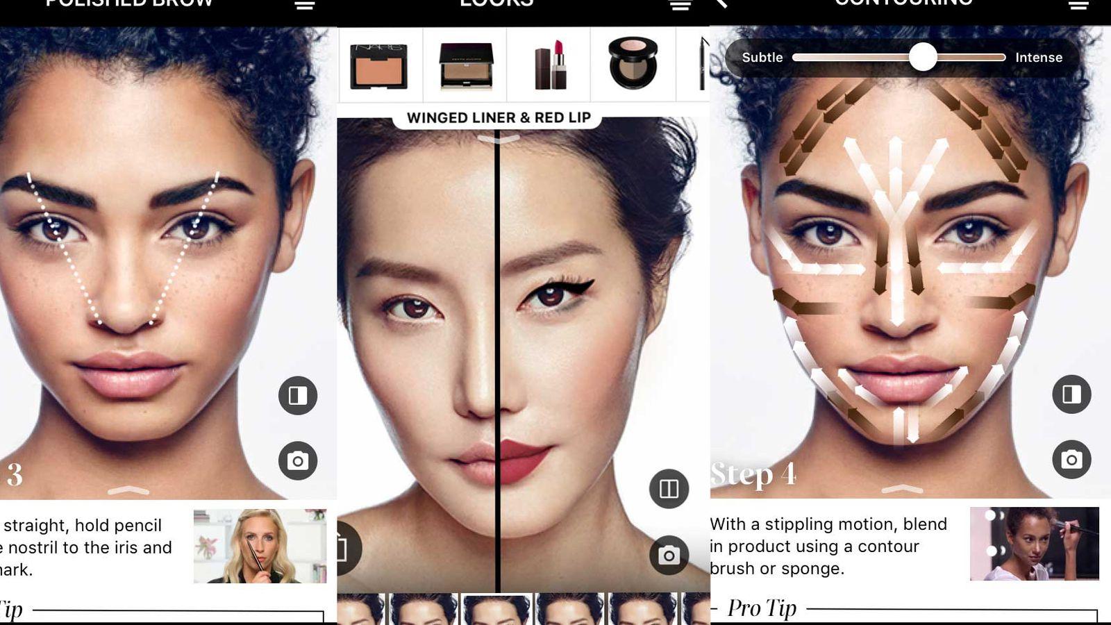 Sephoras latest app update lets you try virtual makeup on at home sephoras latest app update lets you try virtual makeup on at home with ar the verge baditri Choice Image