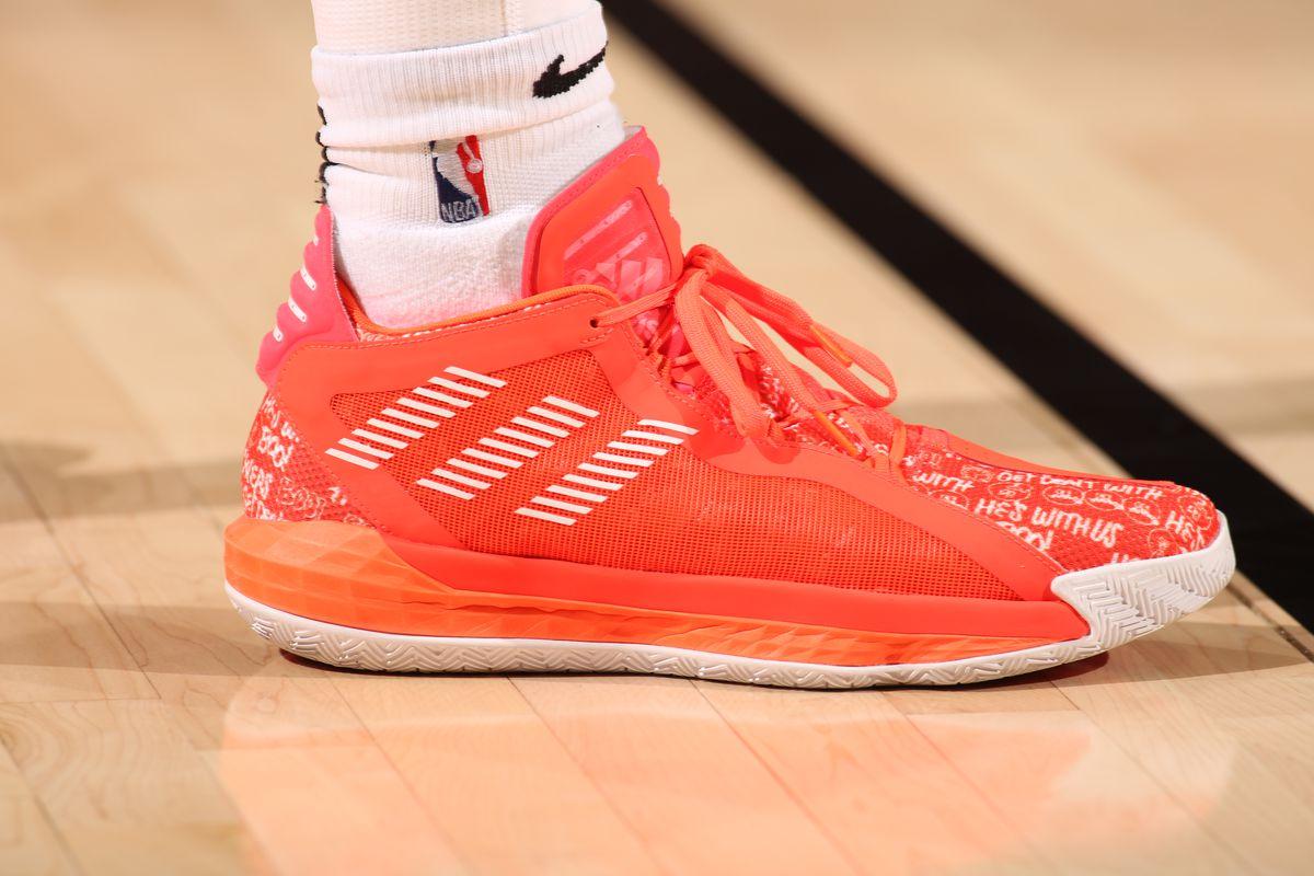 Adidas Officially Unveils Damian Lillard S New Shoe The Dame 6 Blazer S Edge