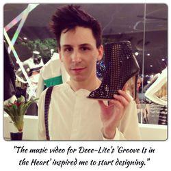 Jerome Rousseau, footwear designer
