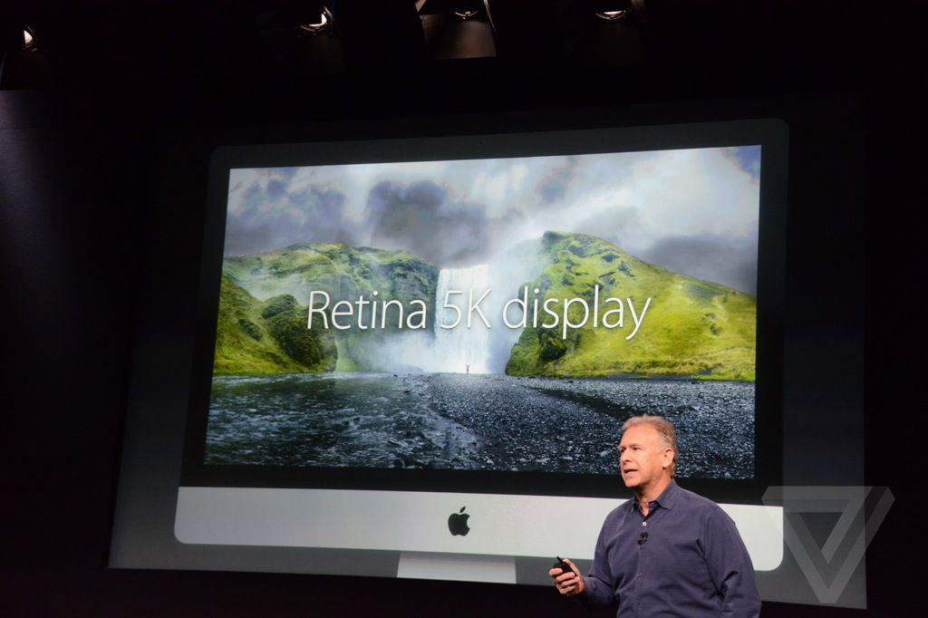 iMac Retina display