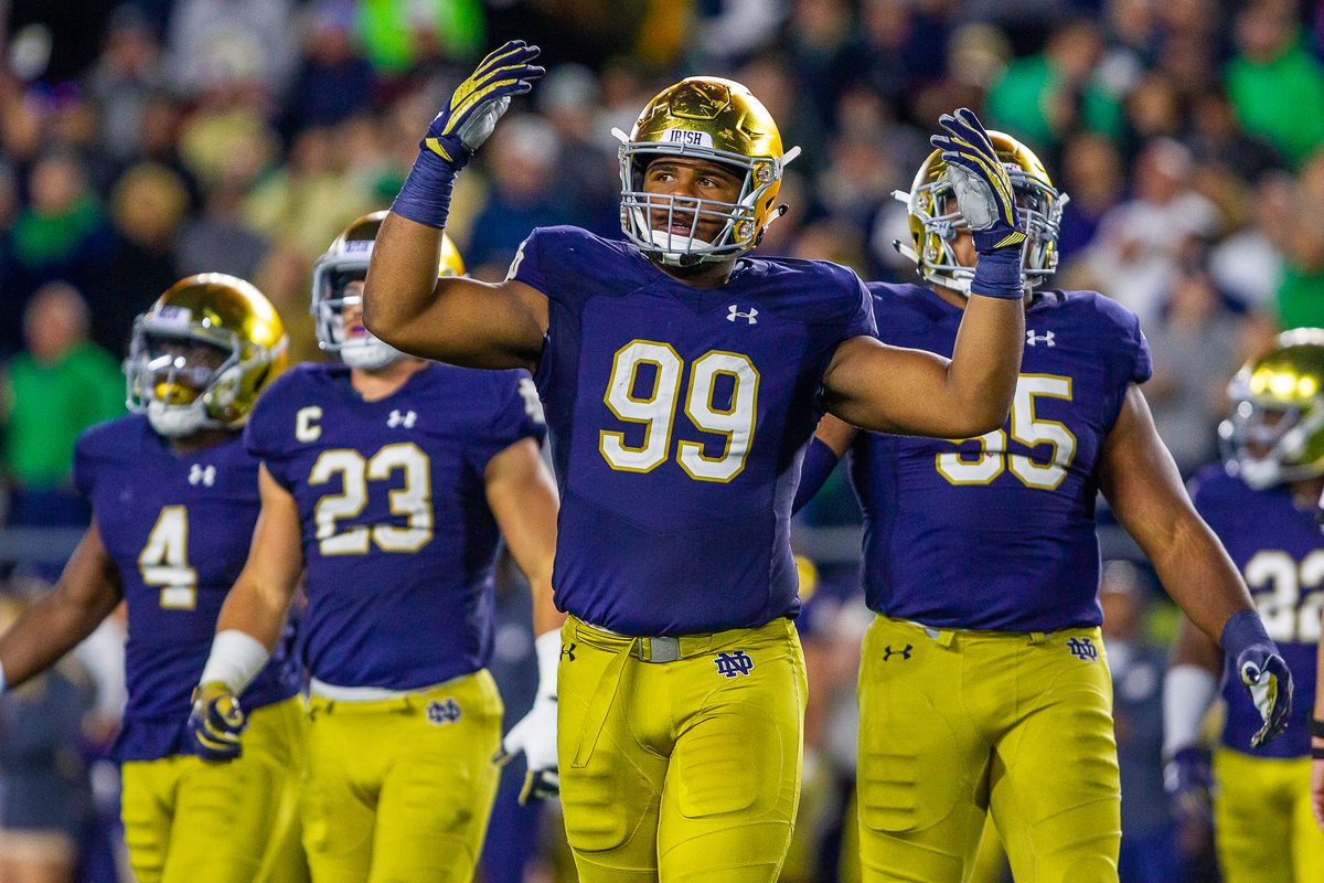 Notre Dame Football: One Thought for Northwestern - Night ...