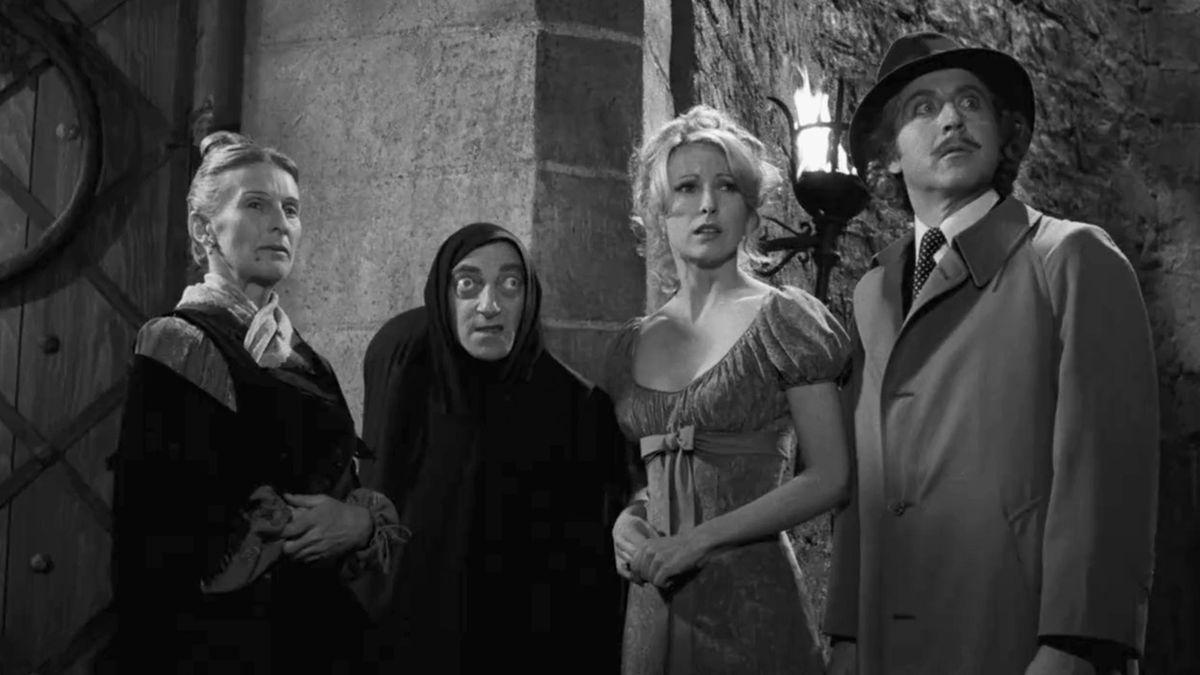 Gene Wilder as Dr. Frankenstein in Young Frankenstein