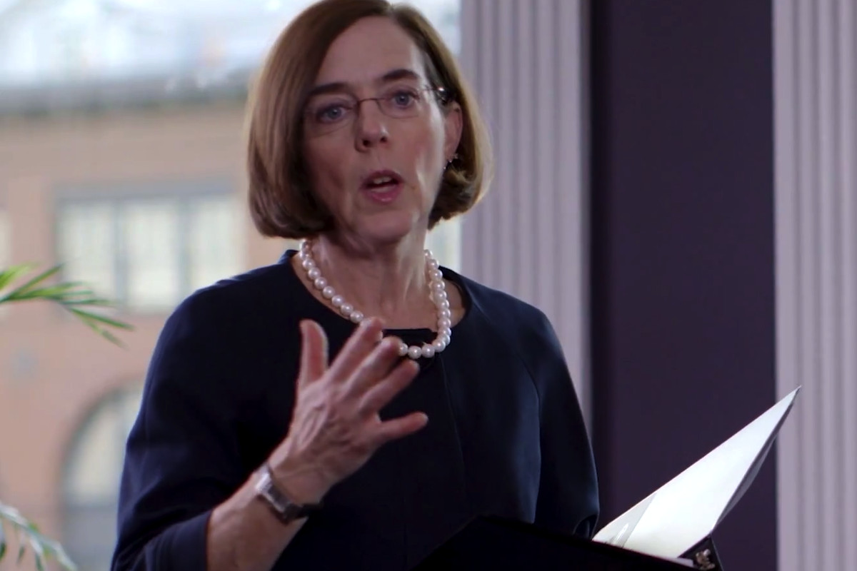 Kate Brown will soon become Oregon's governor.