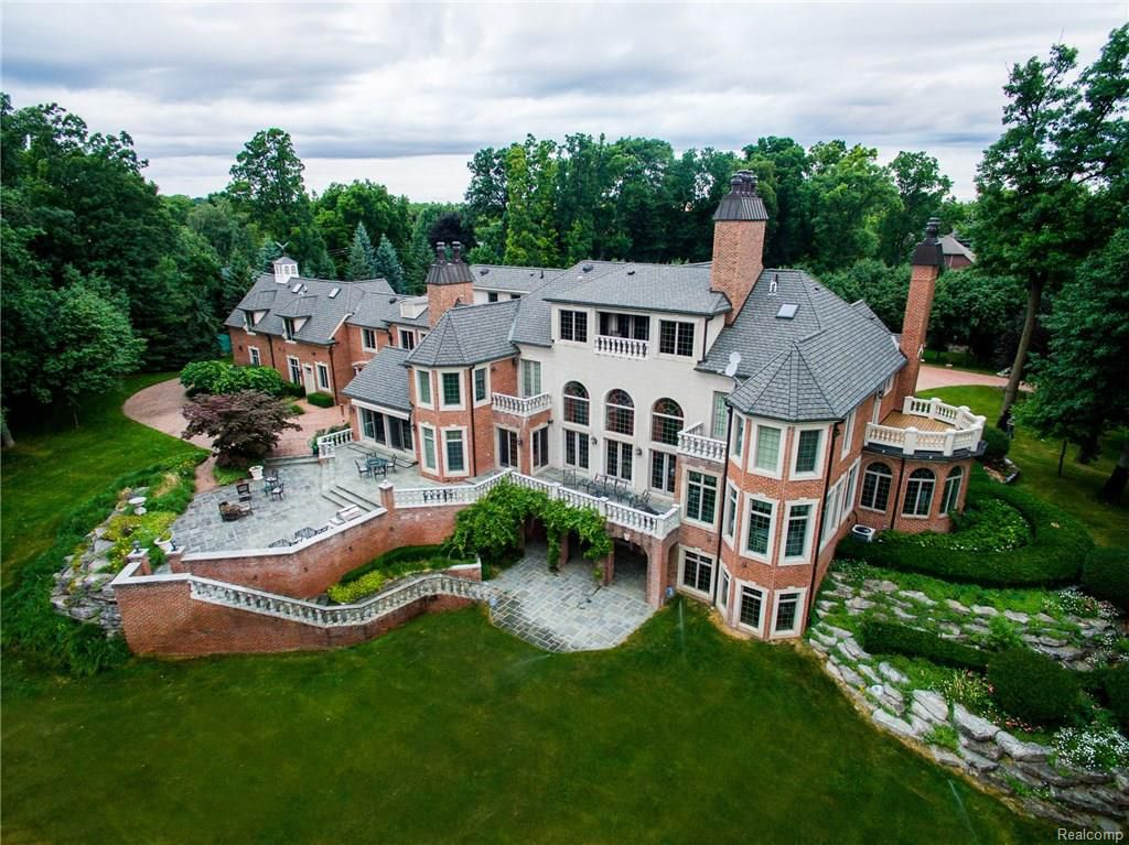 The Most Expensive Homes For Sale In Michigan Mapped