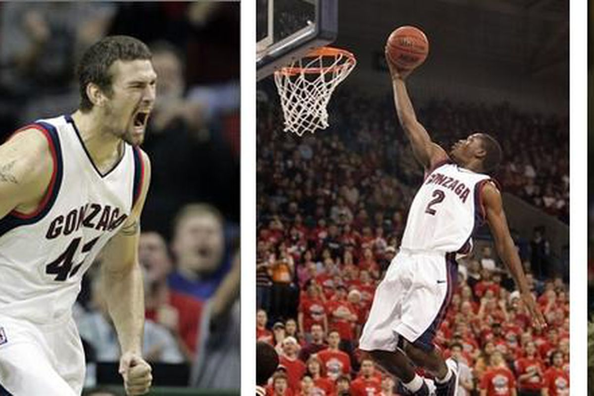 Austin Daye, Josh Heytvelt, Jeremy Pargo, and Micah Downs all hope to hear their name called in tonight's NBA Draft.