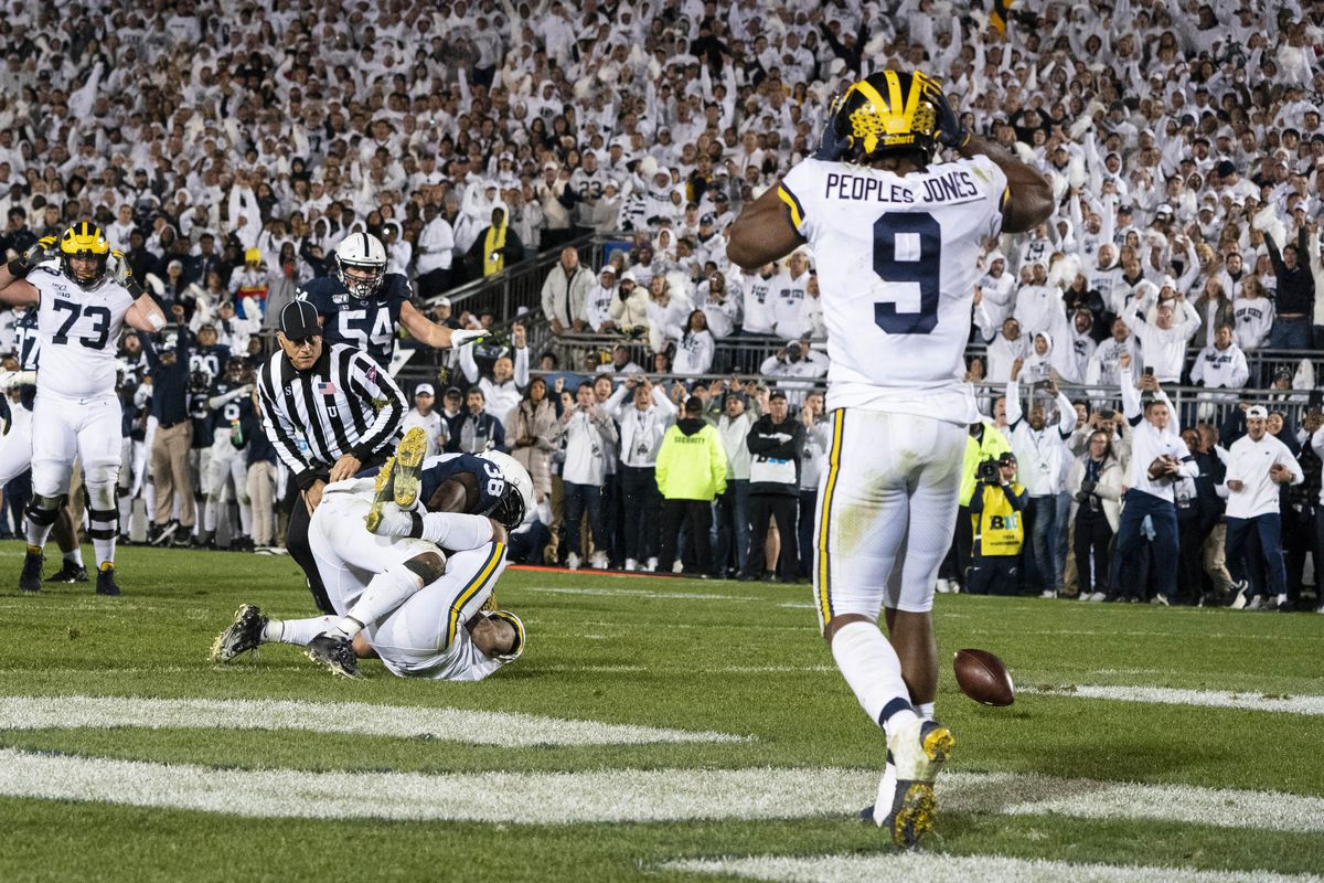 COLLEGE FOOTBALL: OCT 19 Michigan at Penn State