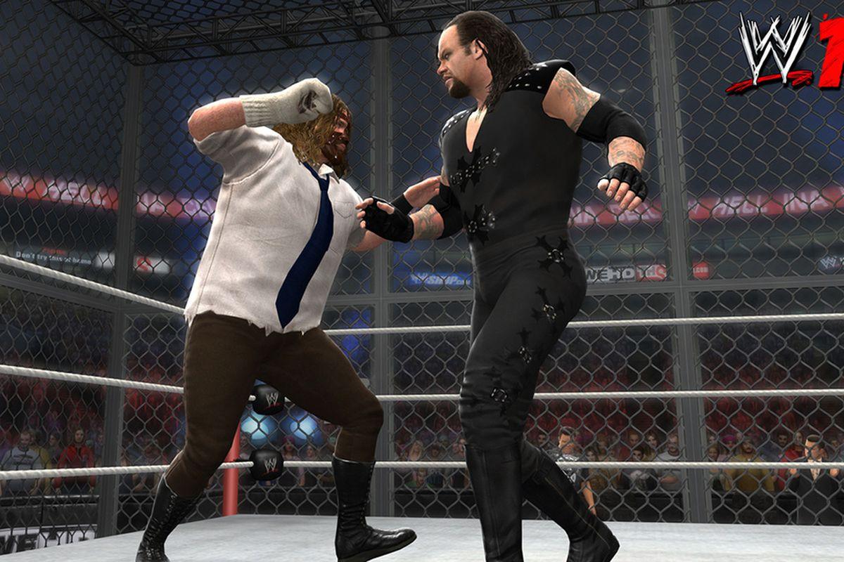 WWE '13 Mankind vs. Taker