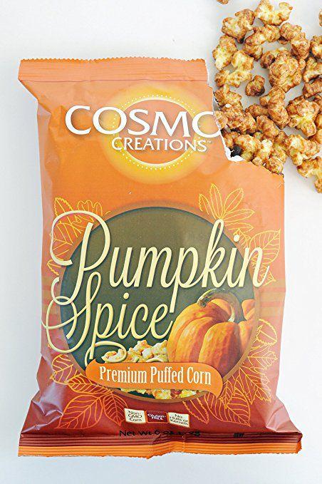 Cosmos Creations Pumpkin Spice popcorn