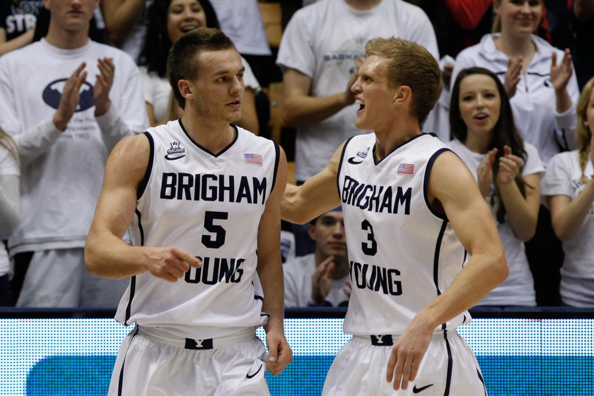 Kyle Collinsworth (5) and Tyler Haws (3) both have NCAA Tournament experience, though neither have played in the Big Dance at the same time.
