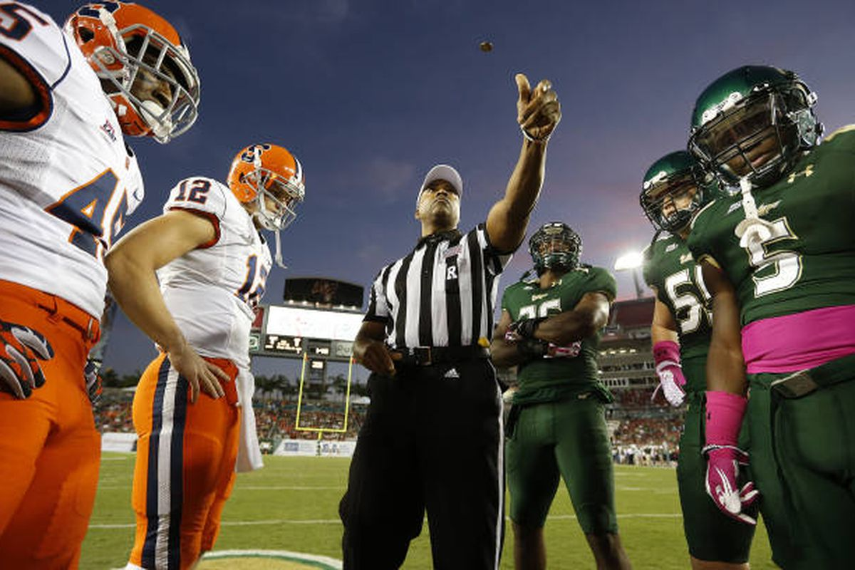 USF last played Syracuse in 2012