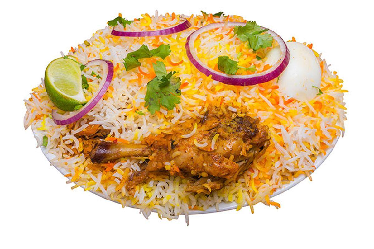 A dish at Biryani Pot