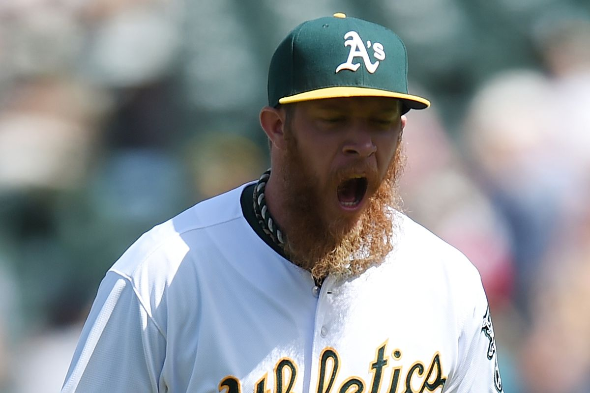 Sean Doolittle (why do so many players have ugly beards these days?)