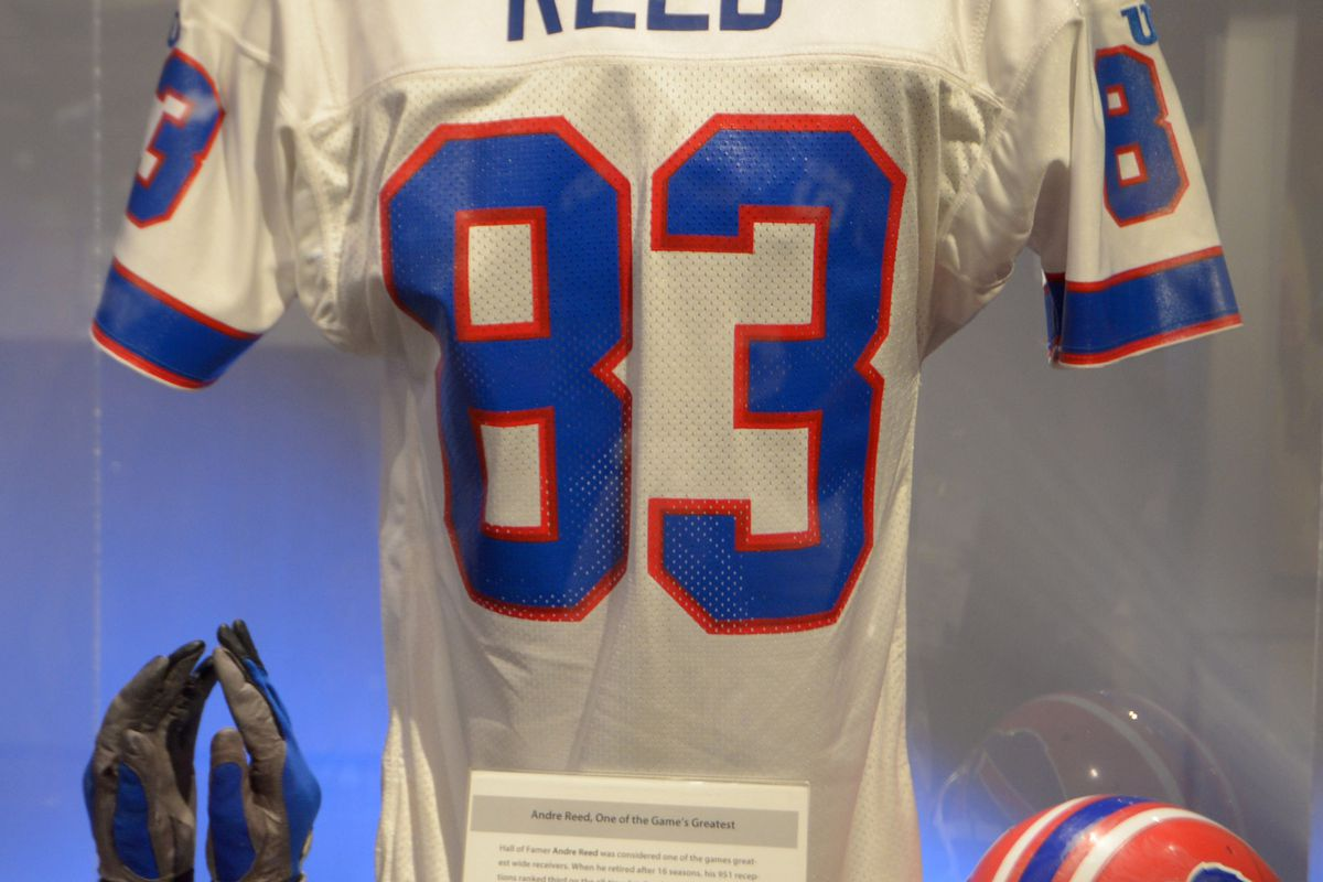 new arrival 08dc0 25392 Andre Reed Hall of Fame Class of 2014 enshrinement ceremony ...