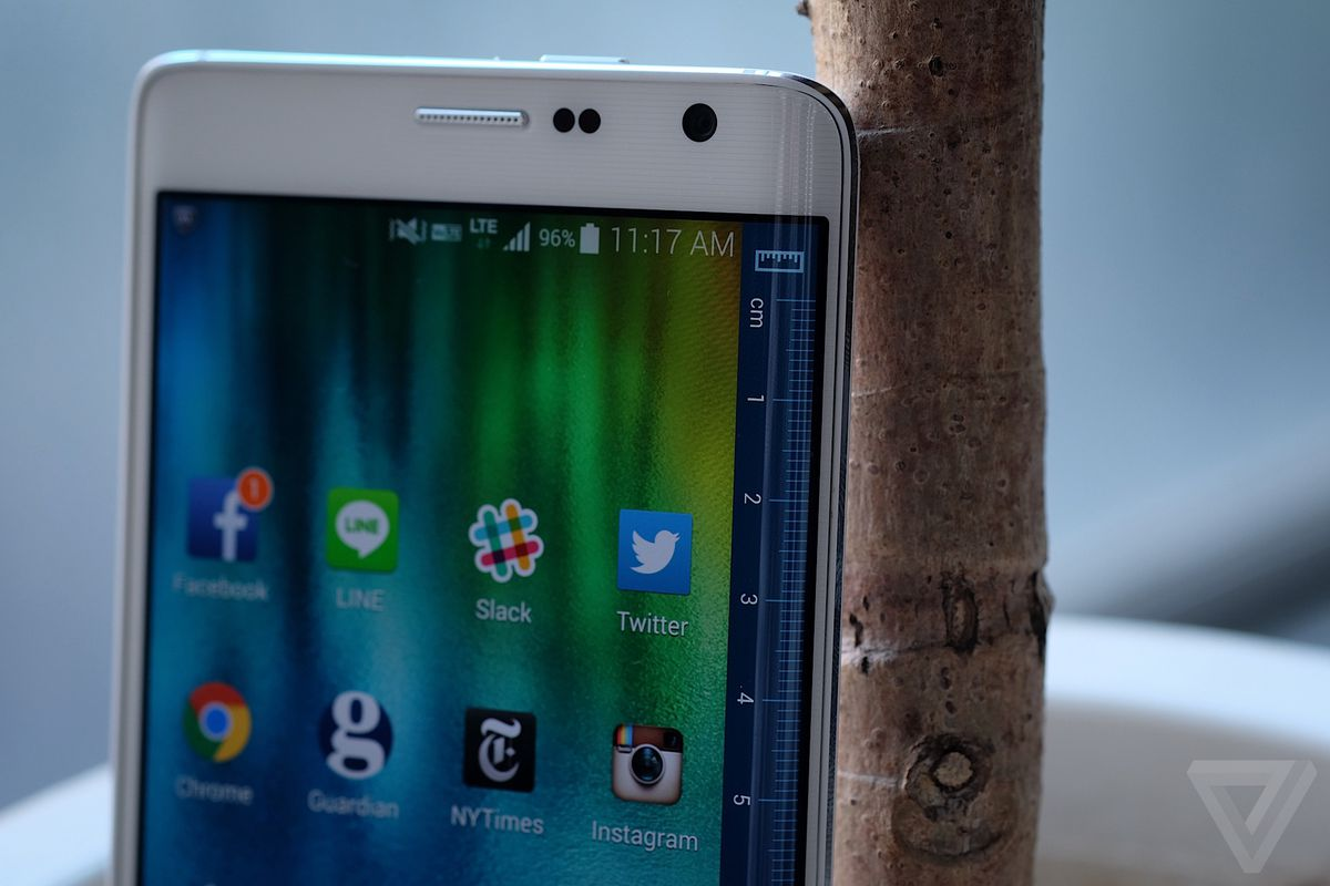 samsung galaxy note edge review stock