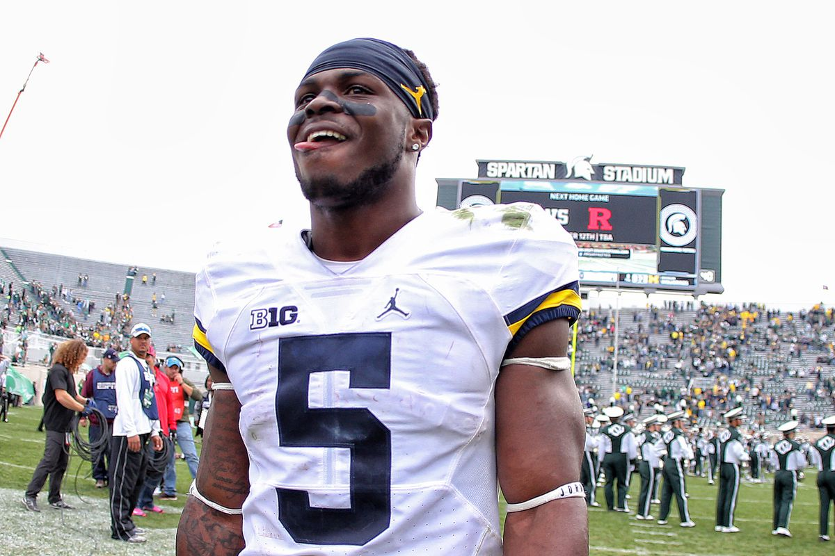 1d7479f5deb Jabrill Peppers should play every position on an NFL field for the Browns.  Michigan s ...