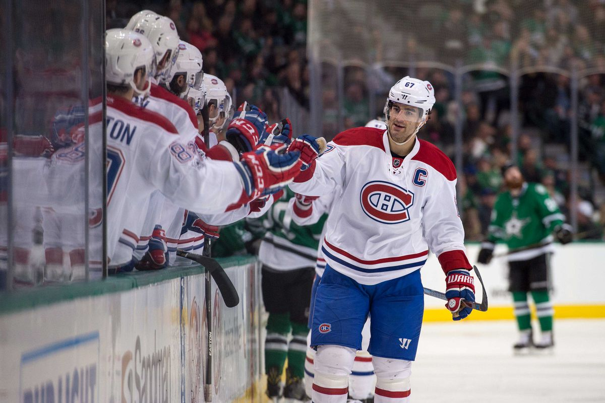 NHL: Montreal Canadiens at Dallas Stars