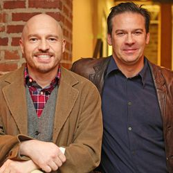 Restaurateur Robert Thompson and chef John Broening of Le Grand Bistro